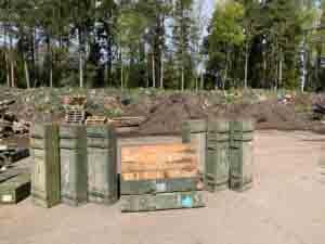 Puidu taaskasutamine aiakujundus